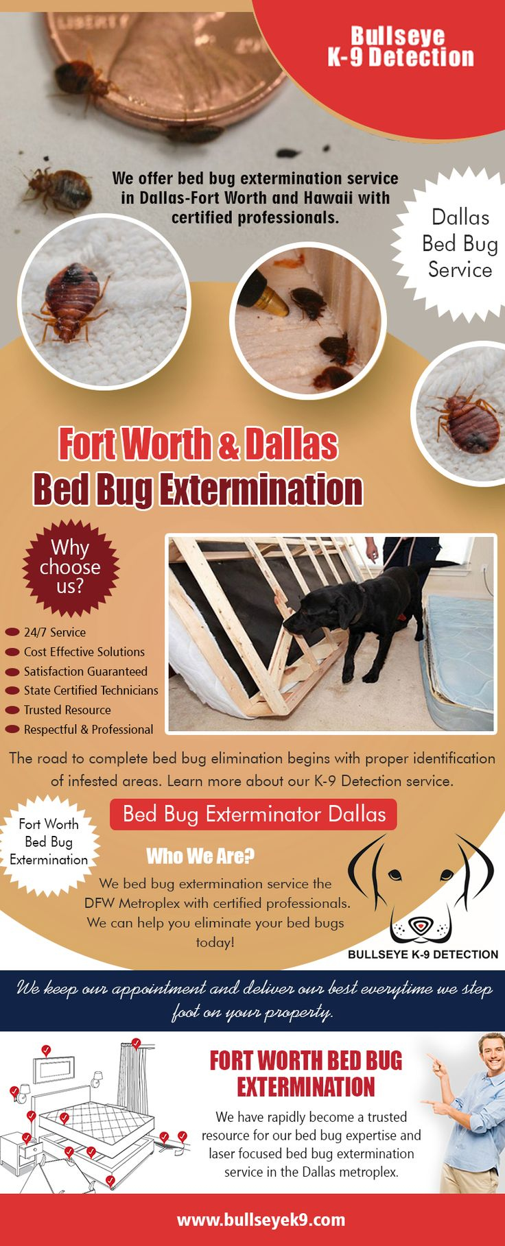 Fort Worth & Dallas Bed Bug Extermination Bed bug