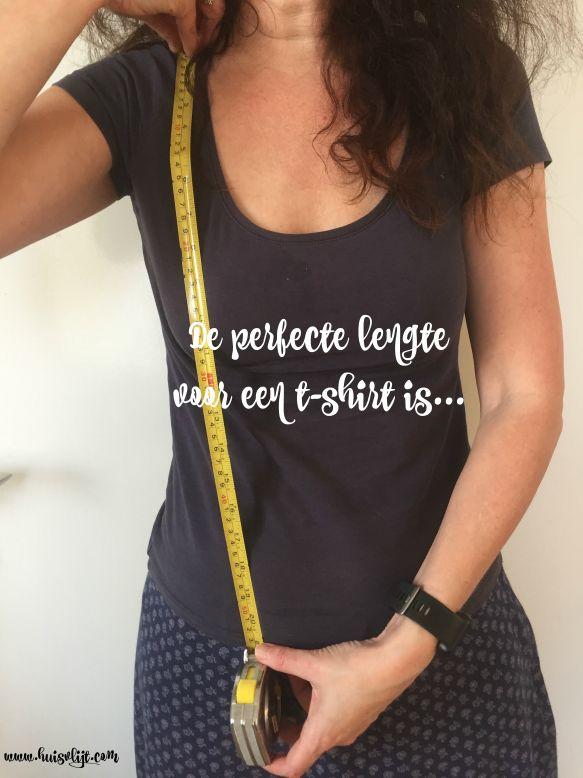 t-shirt lengte