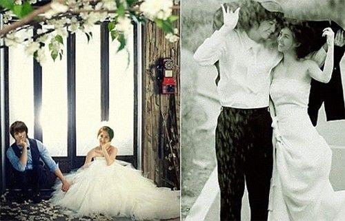 Girls Generation Seohyun+ CNBLUE Jung Yong Hwa 'We Got Married' Wedding Photo