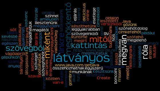 Tech: Készítsünk látványos és meghökkentő szófelhőket szövegeinkből - HVG.hu