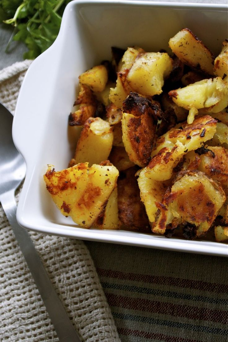 Chuffed & Roasted Potatoes