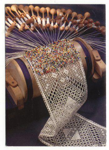 "Bobbin lace making is freaking CRAZAY! ""Finland - Satakunta"""