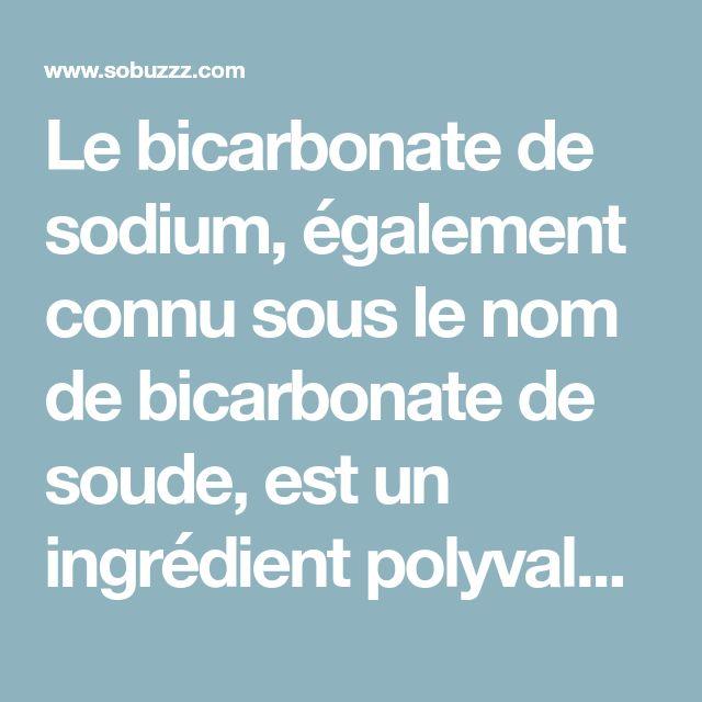 Le bicarbonate de sodium, également connu sous le nom de bicarbonate de soude, est un ingrédient polyvalent non toxique et une substance extrêmement bénéfique. Saviez-vous que vos reins et pancréas créent du bicarbonate de sodium, identique au bicarbonate...