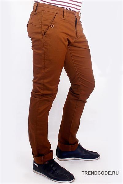 Магазин мужские коричневые брюки