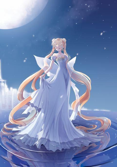 princess serenity Usagi Tsukino Sailor Moon