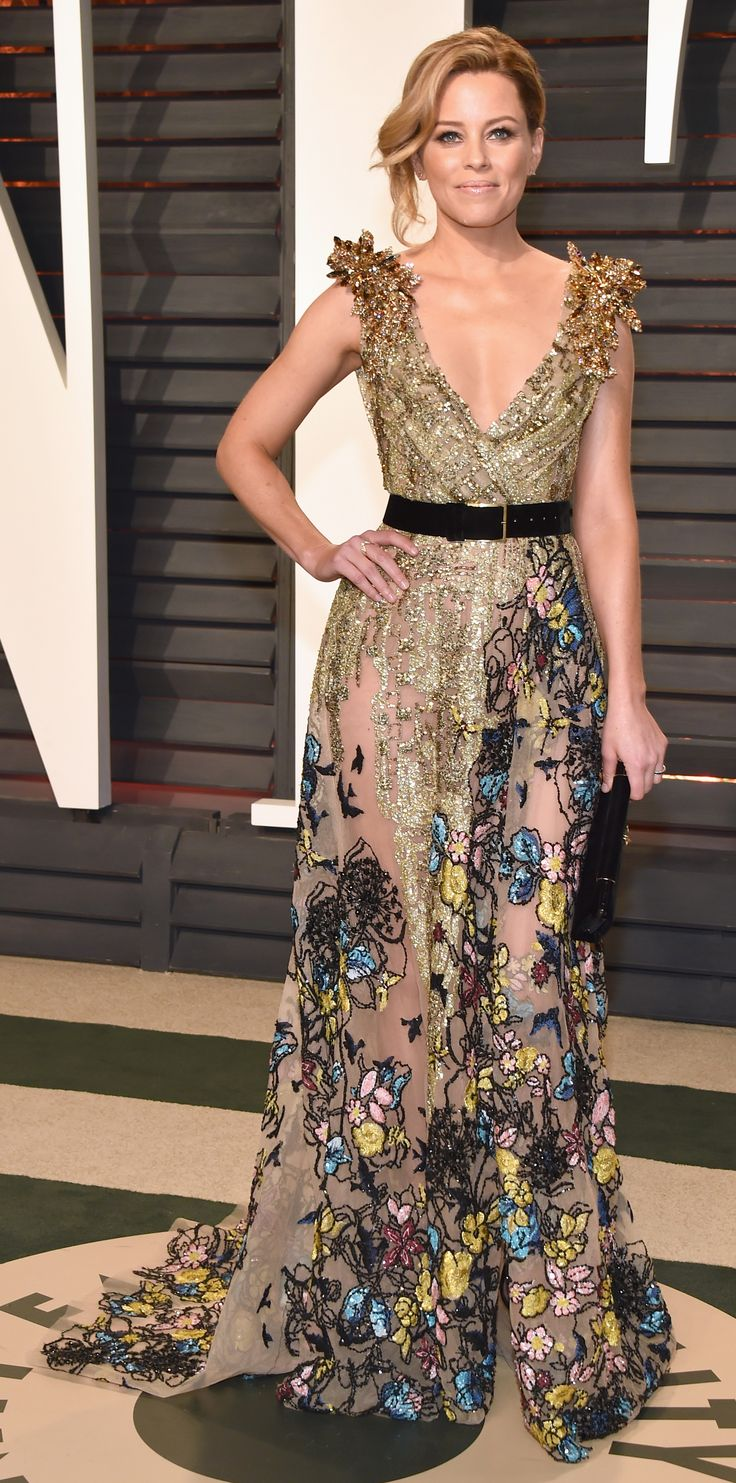 The Top 5 Oscars After-Party Looks, According to Stassi Schroeder - 4. Elizabeth Banks in Elie Saab at theVanity Fair Oscar party from InStyle.com