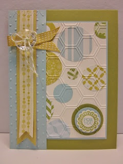 Pretty Provisions: For You: Colors Challenges, Pretty Provi, Baby Boys Cards, Cards Ideas, Cards Punch, Cards Circles, Honeycombs Embossing, Circles Punch, Cute Pretty Cards