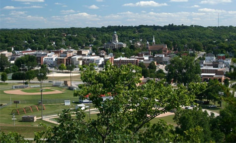 Decorah, Iowa - lovely town on the Upper Iowa River boasting a strong Nordic heritage
