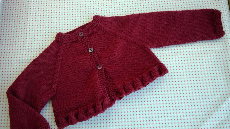 Dotquilts knitting classes: girl cardigan #cardigan #girlish #knit