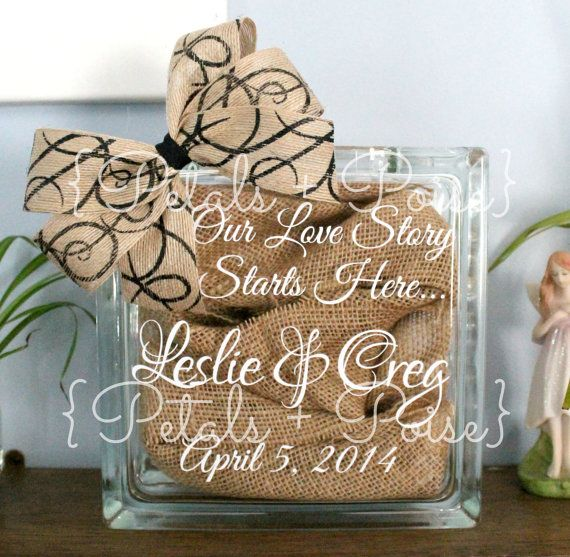 Our Love Story Starts Here Custom Name Wedding by PetalsNPoise, $23.50