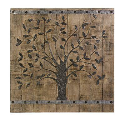 August Grove Tallapoosa Tree of Life Panel Wall Décor & Reviews   Wayfair
