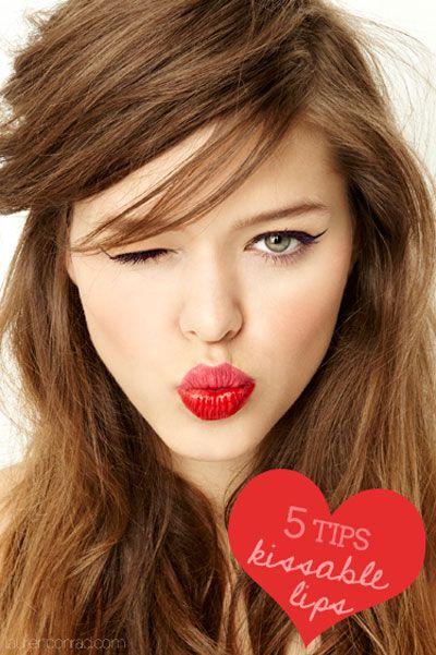 5 Tips for Kissable Lips #makeup