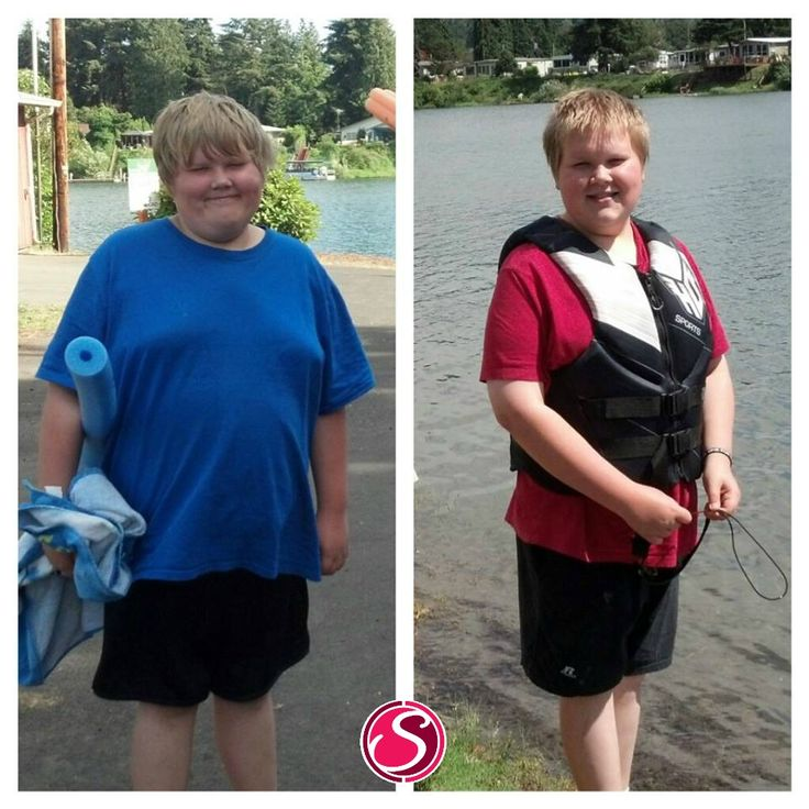 "Alice says ~  ""Whoa! I stumbled across this picture of Cooper from last July and HAD to do another comparison picture! The blue shirt is from July 2012. The red shirt is from July 2013. During the school year Cooper was drinking 4 Plexus Slims per week. Since summer started he drinks about 1-2 Slims a week, and he started taking 2 Probio5 at bedtime each night (these products were approved by his pediatrician)."" READ MORE AT www.SlenderSuzie.com"