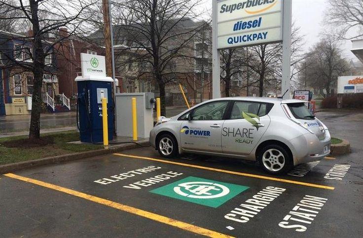 Canada : 2 000 bornes de recharge à portée de carte