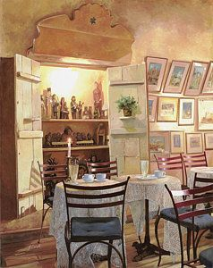Painting - Il Caffe Dell'armadio by Guido Borelli