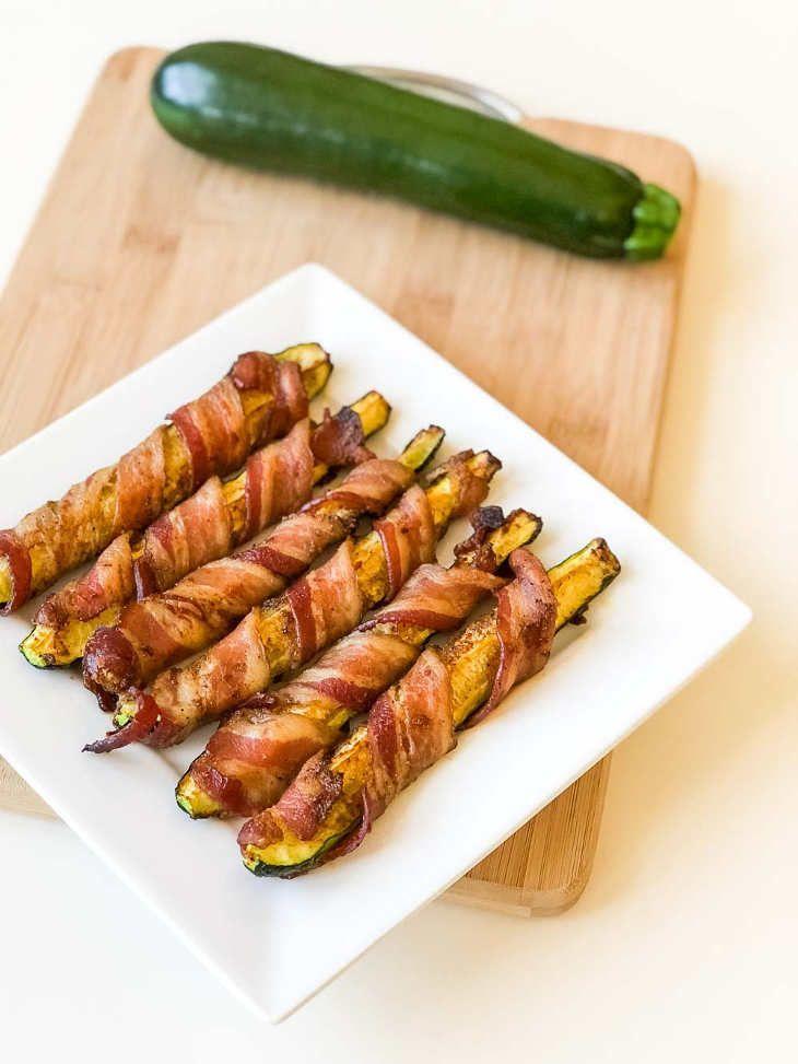 Keto Zucchini Bacon Bites