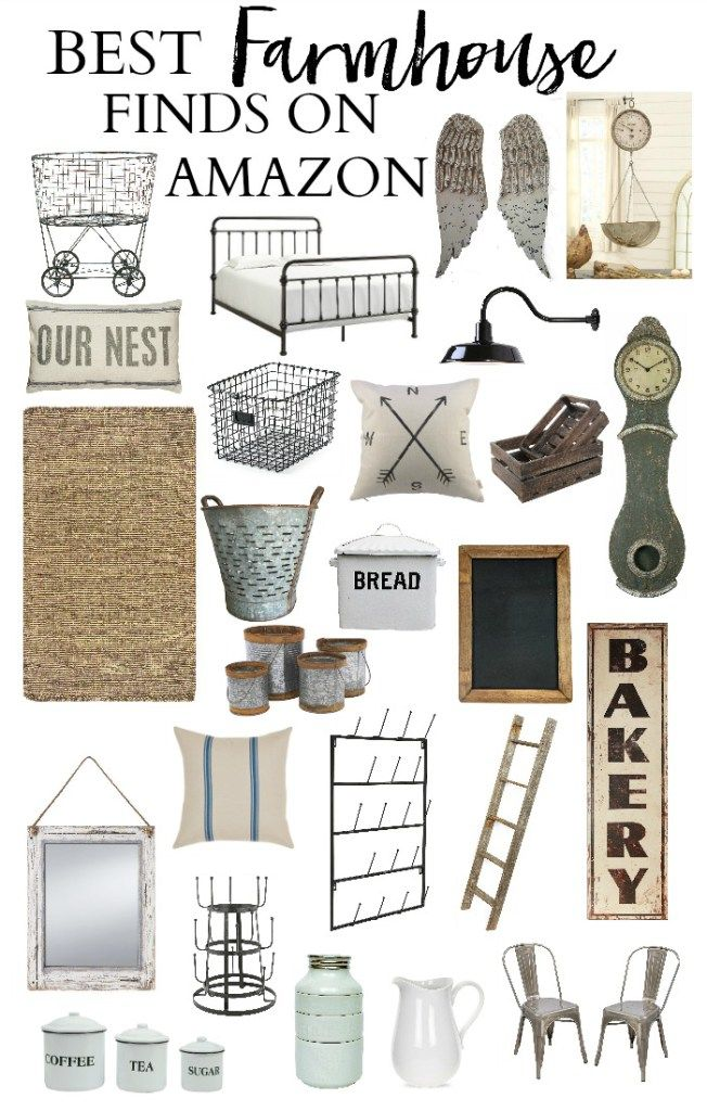 home best farmhouse finds on amazon decorating