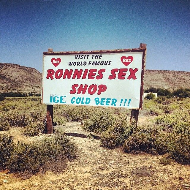 #ronniessexshop #kleinkaroo #westerncape #SouthAfrica