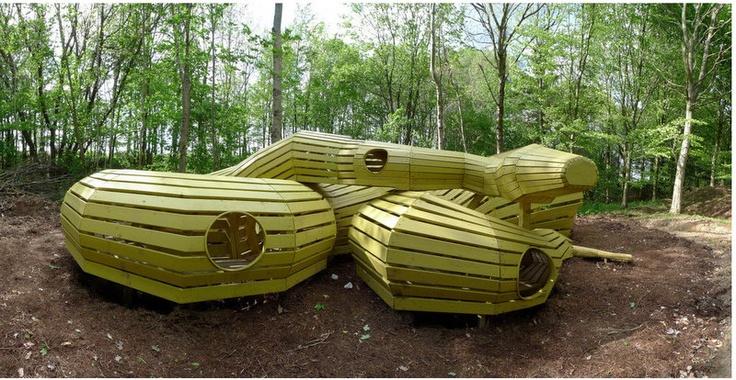 Wood Snake, Monstrum www.skovsnoge.dk