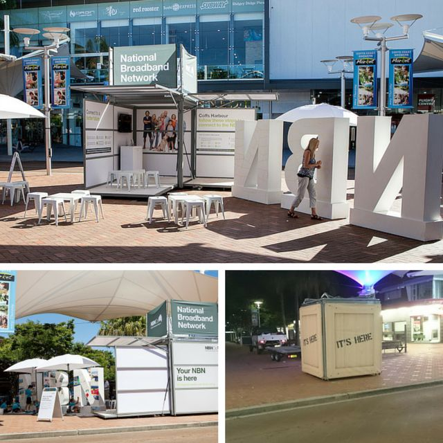 """The Kube as a mobile #branding space and #activation tool is durable and mobile, with both """"open"""" and """"shut"""" position layouts shown here. #promotion"""