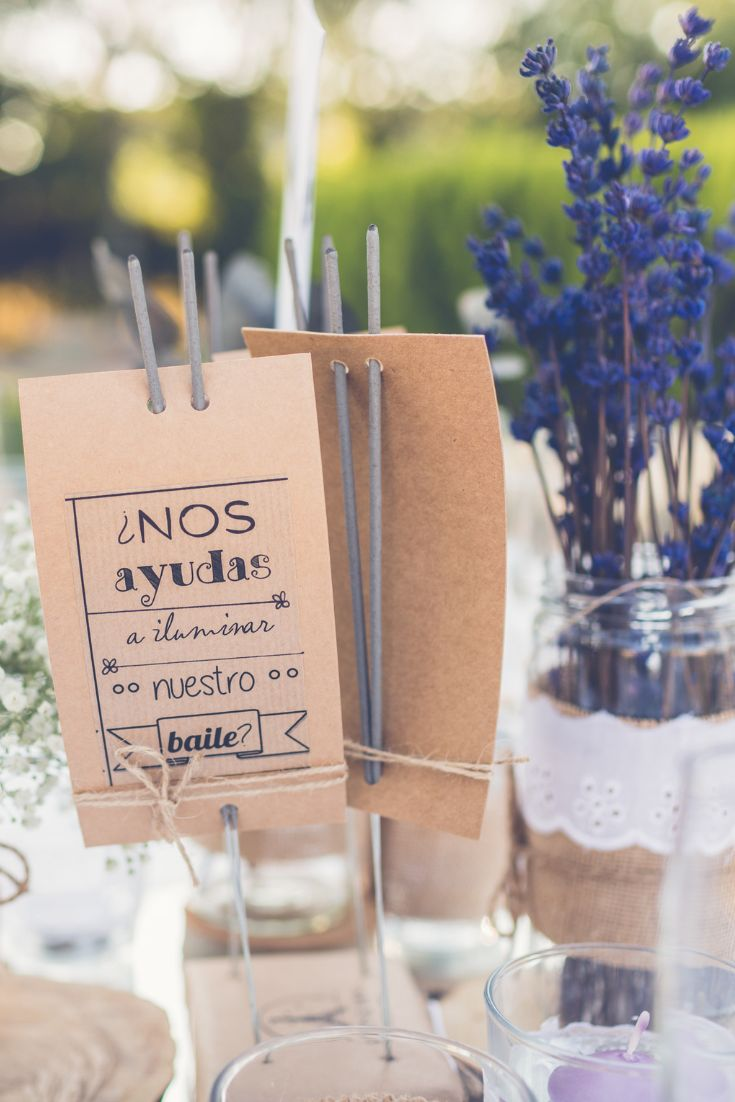 Ideas originales para bodas: ¿cómo incluir la cartelería en vuestro enlace?