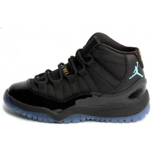 Buy Jordan 11 Gamma Blue Retro 2013 Black Varsity Maize Kids Children Size Online $129.00 http://www.fineretro.com/