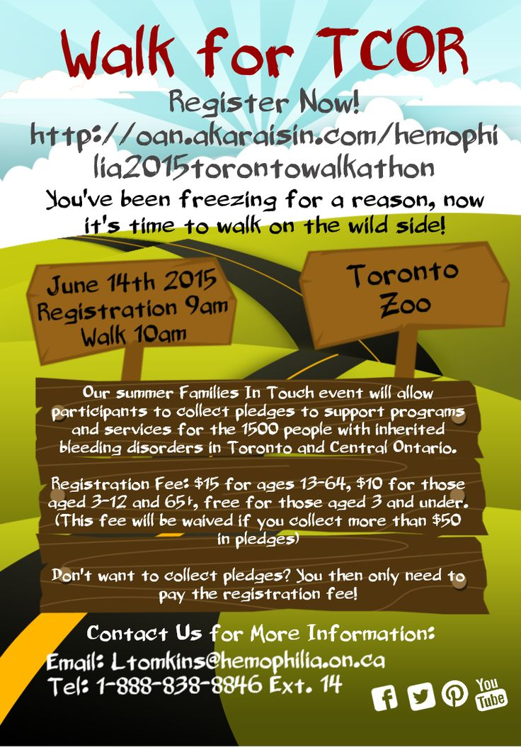 Toronto and Central Ontario Region Walk at the Toronto Zoo Sunday June 14th!  Registration Fee: $15 for ages 13-64, $10 for those aged 3-12 and 65+, free for those aged 3 and under. This fee will be waived if you collect more than $50 in pledges.  Registration includes access to the zoo, a $10 food voucher, participation in the walk, drinks and snacks, and eligibility to win prizes!  Visit bit.ly/1EP19LA to register now!