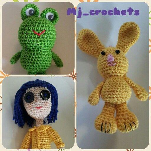 Nice little crochet dolls done by me
