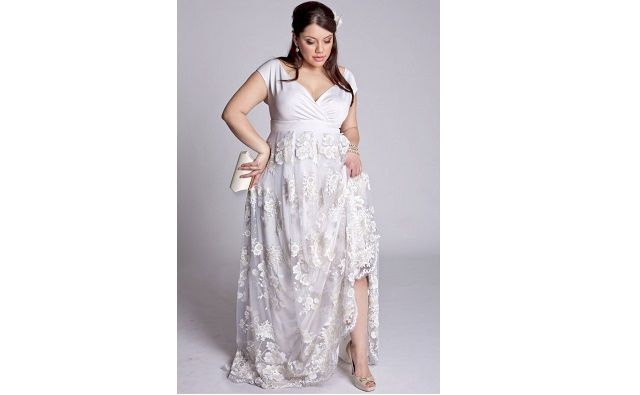 Robe pour mariage grande taille courte