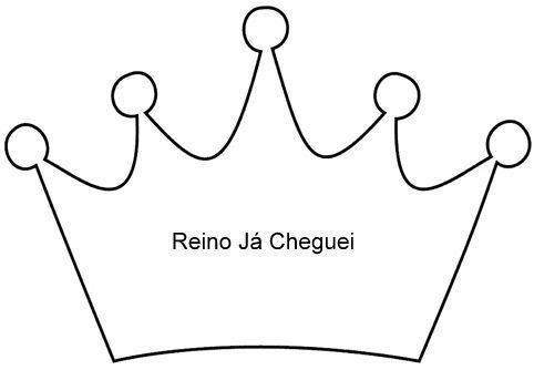 Coroa para os salvos, feltro