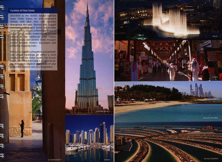 https://flic.kr/p/sRxpnc | Film Dubai Production Guide 2014_2, United Arab Emirates | tourism travel brochure | by worldtravellib World Travel library