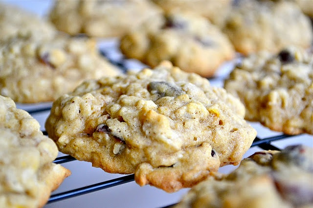 Pumpkin Oatmeal Cookies | food I want to cook | Pinterest