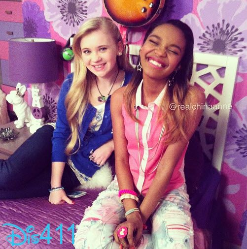 Super Sweet Photo Of Sierra McCormick And China Anne McClain February 28, 2013