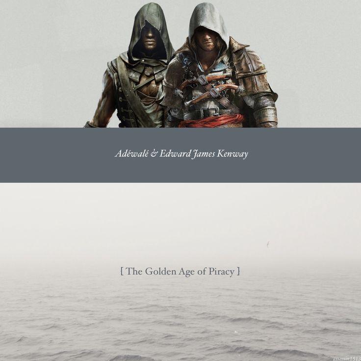 [AC4 BF] Adéwalé & Edward James Kenway - The Golden Age of Piracy