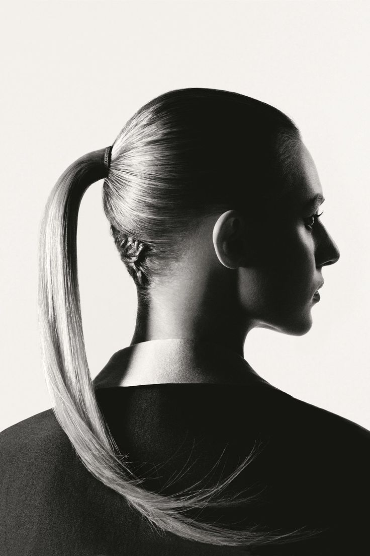 Vogue UK July 2015 |  Does the ponytail - high or low - have an age limit? Sarah Harris investigates a perennial hair classic.