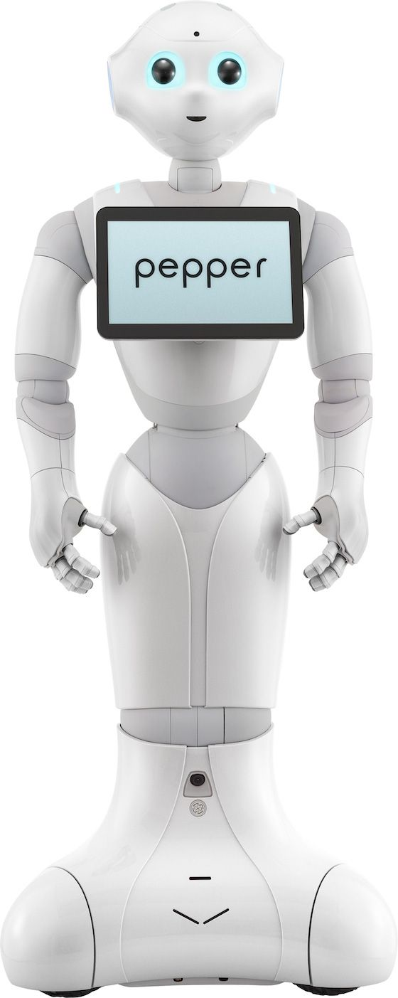 SoftBank announces emotional robots to staff its stores and watch your baby Pepper will go on sale for under $2,000 in February. VIDEO