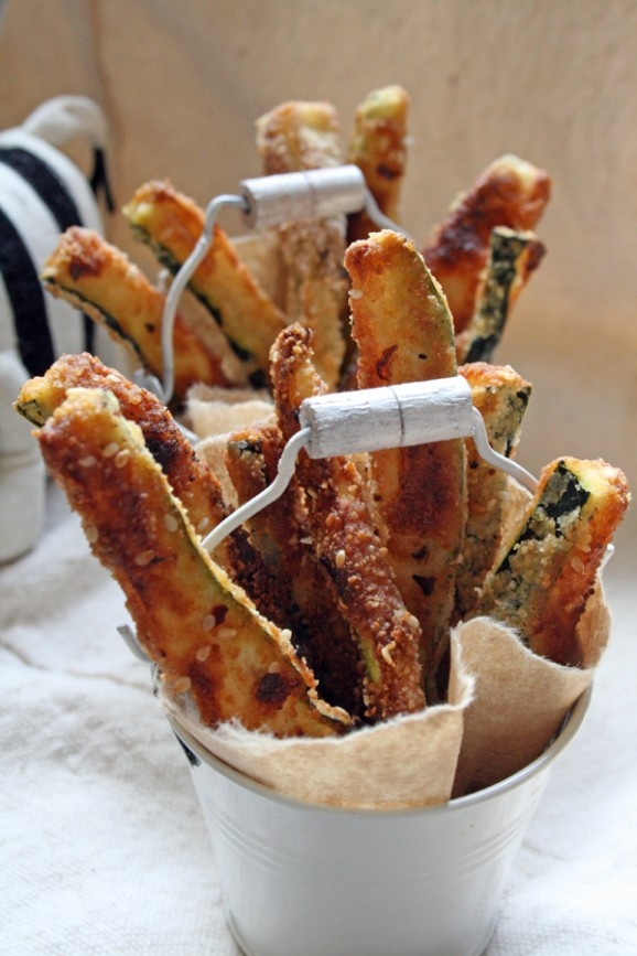 Baked Zucchini Fries   Food   Pinterest