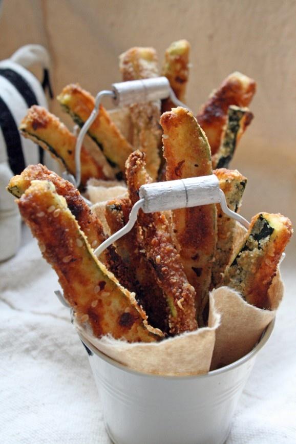 Baked Zucchini Fries: Food Porn, Baking Zucchini, Zucchini Chips, Zucchini Sticks, Food Drinks Treats, Breads Sticks, Porn Food, Zucchini Fries, Buffet Ideas