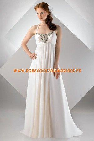 Bari Jay White Robe de Mariée - Style 69925