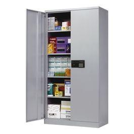 keyless electronic locking storage cabinet
