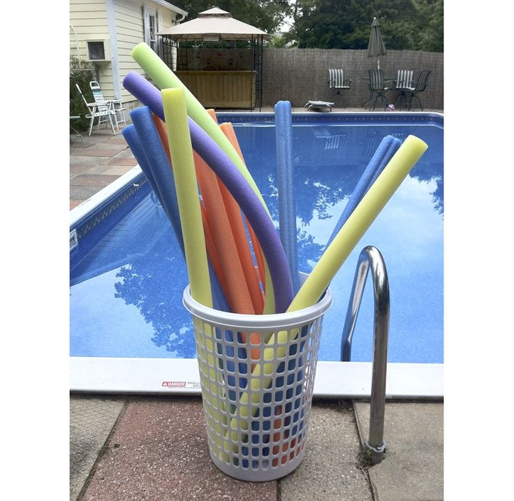 Unique Pool Noodle Storage Container With Images Pool