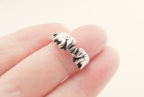 Sterling Silver Elephant Ring, Jewelry, Silver, Rings, Elephant Jewelry, Animal Jewelry, Animal Ring, Fall Fashion, Christmas Gifts.