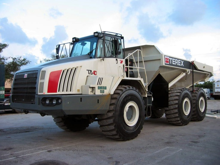 terex ta40 dump truck as of the week of 12 10 13 terex. Black Bedroom Furniture Sets. Home Design Ideas
