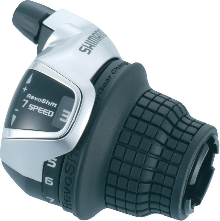 Shimano Tourney 7 Speed Grip Shifer Revoshifter SLRS47 inc. Inner Cable | AdertoCycles.ie.