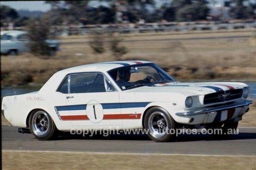 66210 - Pete Geoghegan, Total Mustang - Warwick Farm 1966 - Photographer Lance J Ruting - AUTOPICS