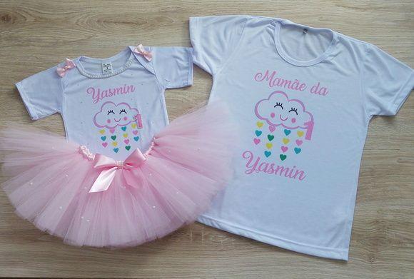 f940de283b Compre fantasia chuva de amor benção+ 1 camiseta mamãe no Elo7 por R  135