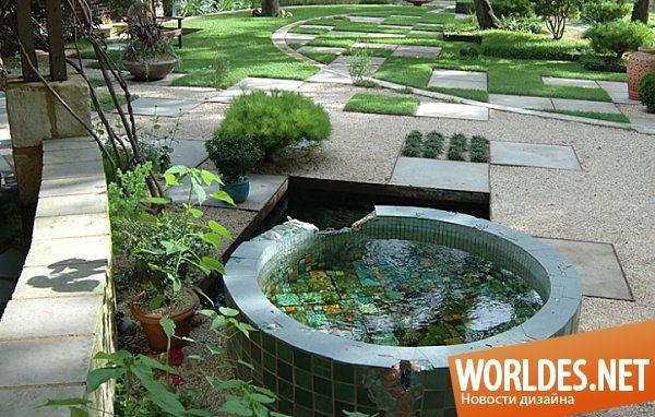 Впечатляющие садовые пруды фото 1