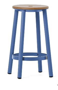 Baker stool from IMO. colour is the suggested configuration. CM