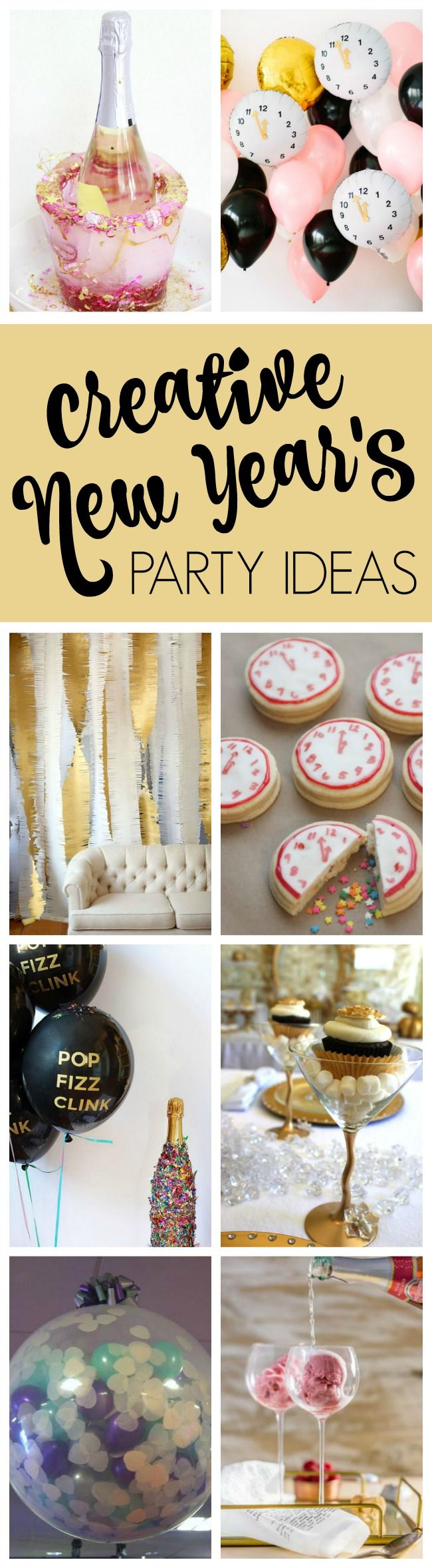 25 Best Ever New Year's Eve Party Ideas on Pretty My Party