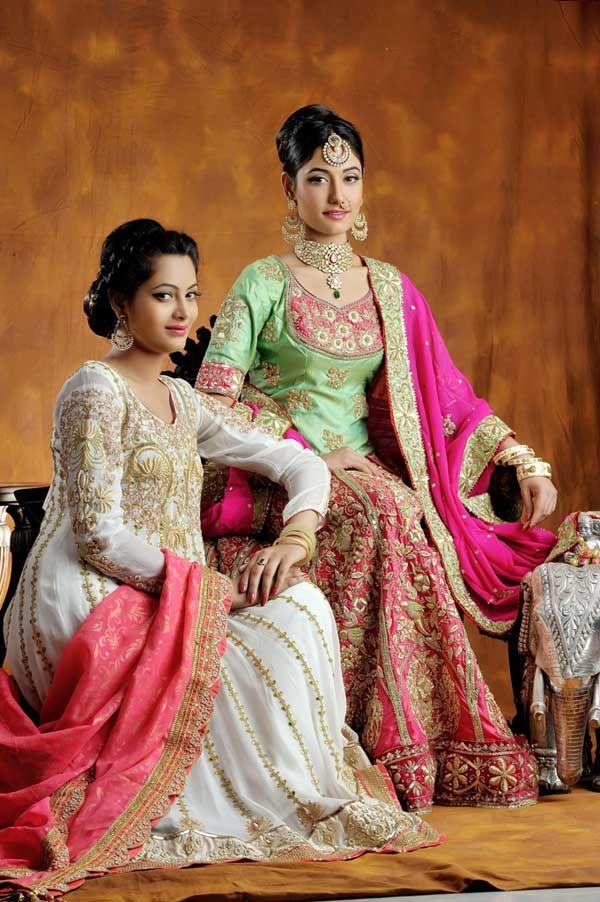 myShaadi.in > Indian Bridal Wear by Aashmaa Collection #bridal wear #india #bridal lehengas #designer bridal outfits #indian wedding